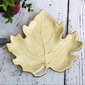 🍁Fall Leaf Ceramic Dish